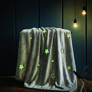Spura Single Star Glow in the Dark Throw