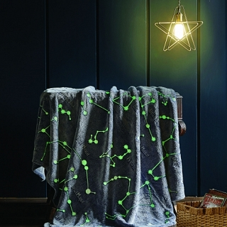 Spura Constellations Glow in the Dark Throw
